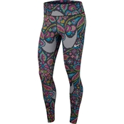 Hyper Flora Femme Printed Fast Tight