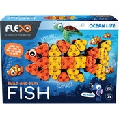 Flexo Building Bricks Ocean Life Range Fish