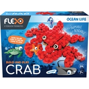 License 2 Play Flexo Building Bricks Ocean Life Range Crab