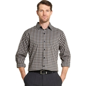Van Heusen Traveler Plaid Non Iron Shirt