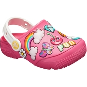 Crocs Preschool Girls Fun Lab Playful Patches Clogs