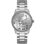 Guess Glitzy Logo Dial Watch 18mm U1205L1