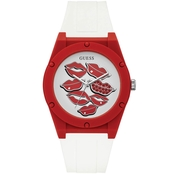 Guess Red Lip Watch 18mm U0979L21