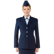 Air Force Officer Service Dress Coat, Female