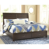 Signature Design by Ashley Darbry Storage Bed