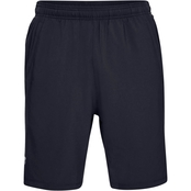 UA LAUNCH SW 9'' SHORT-BLK/BLK/REF