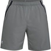 UA LAUNCH SW 7'' SHORT-BLK/BLK/REF