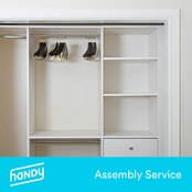 Handy Closet Storage Assembly Service