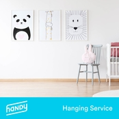 Handy Wall Art Installation, Up to 3