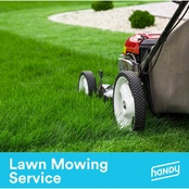 Lawn mowing (less than 3,000 sq. ft) - $89