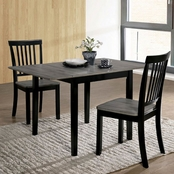 Furniture of America Evie 3 pk. Dining Set
