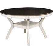 Furniture of America Juniper Round Dining Table