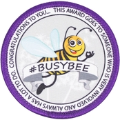Vanguard Military Brat Busy Bee Patch