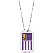 Vanguard Military Brat Flag Dog Tag