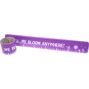 Vanguard Military Brat We Bloom Anywhere Slap Wrist Bracelet