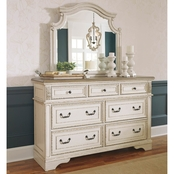 Realyn Dresser & Mirror Set