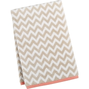 Martha Stewart Collection Cotton Chevron Spa Fashion Bath Towel
