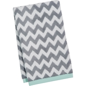 Martha Stewart Collection Cotton Chevron Spa Fashion Hand Towel