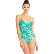 Rachel Roy Feline Forest One Piece Swimsuit