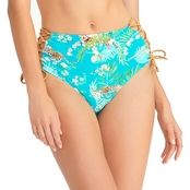 Rachel Roy Feline Forest High Waist Bottoms