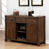 Furniture of America Scranton Buffet Server