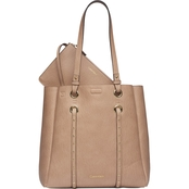 Calvin Klein Cora Bubble Lamb Novelty North/South Tote