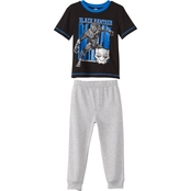 Marvel Toddler Boys Black Panther Tee and Jogger Pants 2 pc. Set