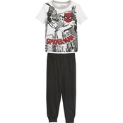 Marvel Toddler Boys Spider-Man Tee and Jogger Pants 2 pc. Set