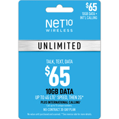 NET10 Unlimited Phone Card