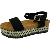 Bamboo Casual Flatform Sandals
