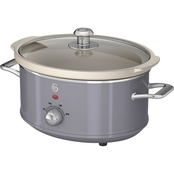 Salton Swan Retro Slow Cooker 3.5 Liters