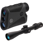 Sig Sauer BDX Combo Kit KILO1400 Riflescope and 3.5-10 x 42mm Rangefinder