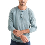 Lucky Brand Sugar Magic Notch Henley Tee