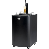 Nostalgia 5.1 Cu. Ft. Full Size Kegorator Draft Beer Dispenser