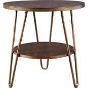 Signature Design by Ashley Lettori Round End Table