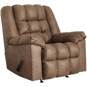 Signature Design by Ashley Adrano Rocker Recliner with Heat and Massage