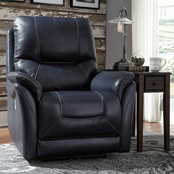 Signature Design by Ashley Stolpen Power Recliner with Adjustable Headrest/Lumbar
