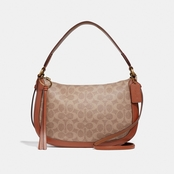 COACH Sutton Signature Coated Canvas Crossbody Handbag