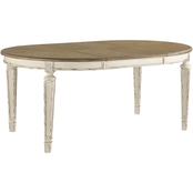 Realyn Oval Dining Room Extension Table