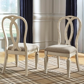 Signature Design by Ashley Realyn Ribbon Back Dining Side Chair 2 pk.