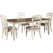 Signature Design by Ashley Realyn 5 pc. Rectangular Dining Set