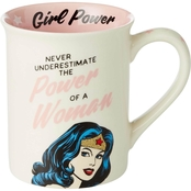 Our Name is Mud DC Comics Wonder Woman Girl Power Mug