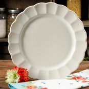 The Pioneer Woman Luster Linen Dinner Plate 10.75 in.