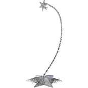 Waterford Christmas Giftware Silver Star 10.5 In. Ornament Stand