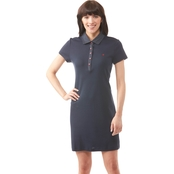 Tommy Hilfiger Dot Collar Polo Dress