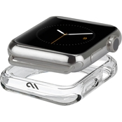 Case-Mate Clear Bumper Case for 42mm - 44mm Clear Apple Watch