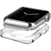 Case-Mate Clear Bumper Case for 38mm - 40mm Clear Apple Watch