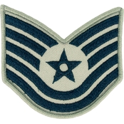 Air Force Technical Sergeant Chevron Subdued Sew-On Small (ABU)
