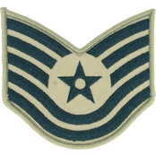 Air Force Technical Sergeant Chevron Subdued Sew-On Large (ABU)