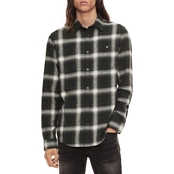 Calvin Klein Jeans Winter Workwear Plaid Shirt